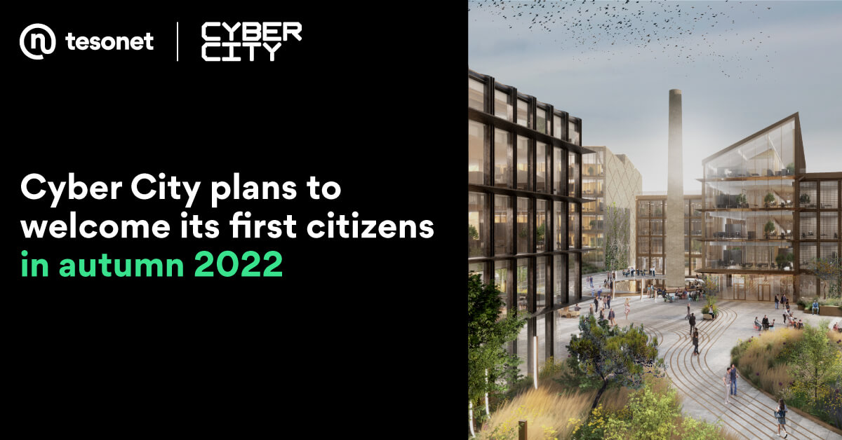 Cyber City plans to welcome its first citizens in autumn 2022